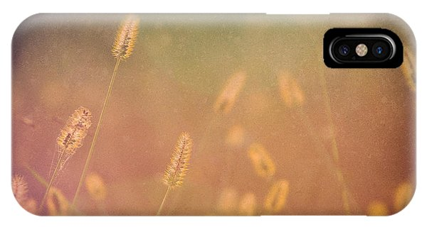 Among The Prairie Grasses IPhone Case