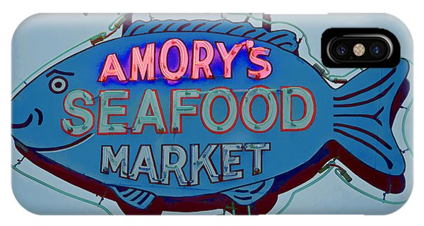 Amory Seafood Sign IPhone Case