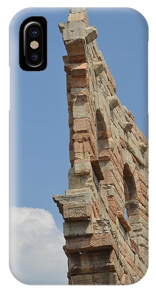Amphitheater Wall Verona IPhone Case