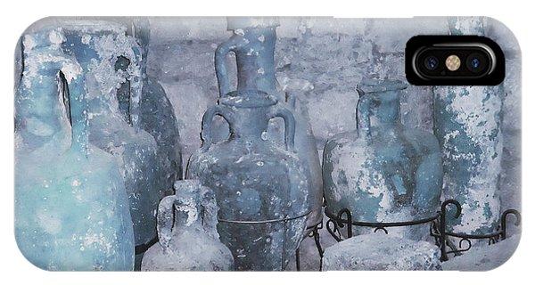 Amphora In Blue IPhone Case