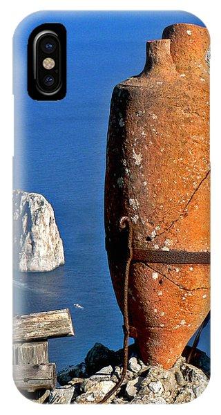 Amphora On The Island Of Capri 2 IPhone Case