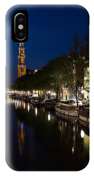 Amsterdam Blue Hour IPhone Case