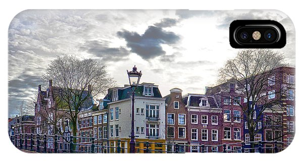 Amsterdam Bridges IPhone Case