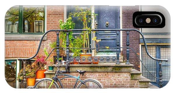 Amsterdam Facade IPhone Case