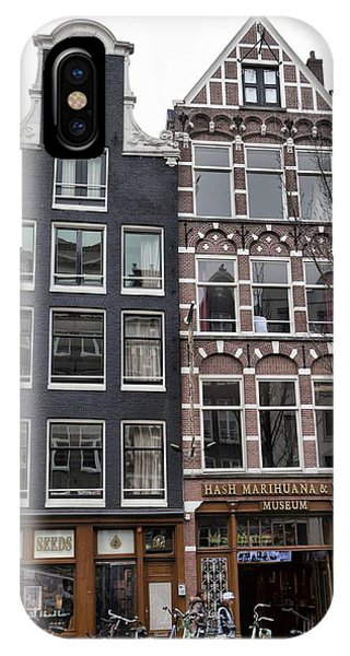 Amsterdam Hash Museum IPhone Case