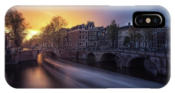 Amsterdam - Keizersgracht Phone Case by Jean Claude Castor