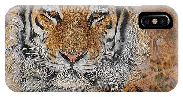 Amur Tiger Magnificence IPhone Case