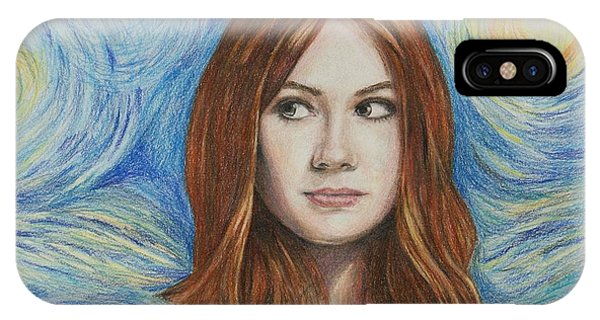Amy Pond / Karen Gillan IPhone Case