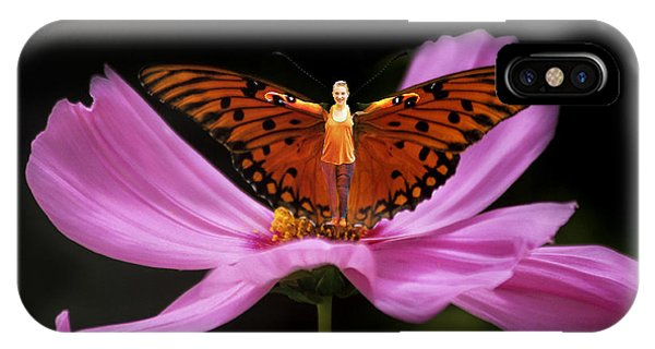 Amy The Butterfly IPhone Case