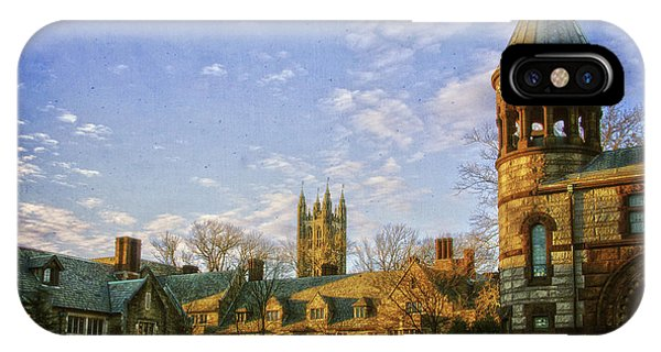 An Afternoon At Princeton IPhone Case