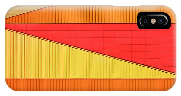 Orange Color iPhone Case - An Agora Variation by Theo Luycx
