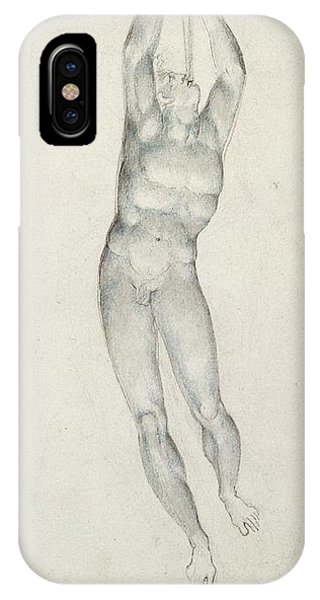 An Angel With A Trumpet IPhone Case