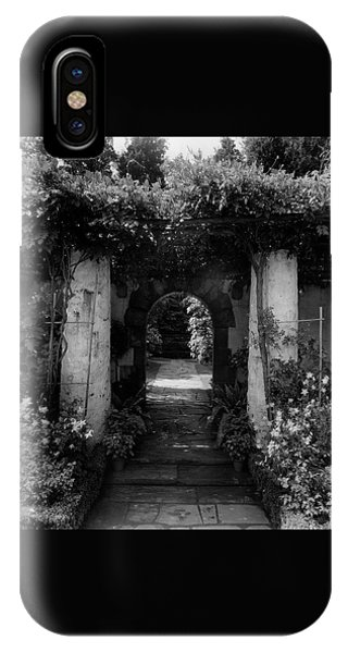 An Archway In The Garden Of Mrs. Carl Tucker IPhone Case
