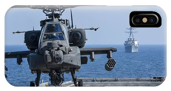 An Army Ah-64d Apache Helicopter Takes IPhone Case