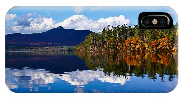 An Autumn Evening On Lake Chocorua IPhone Case