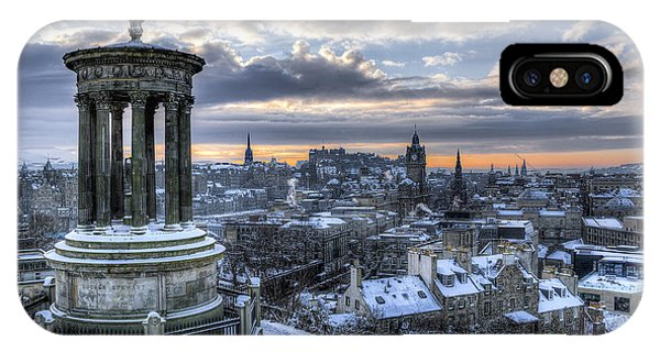 An Edinburgh Winter IPhone Case