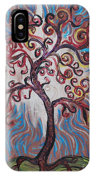 An Enlightened Tree IPhone Case