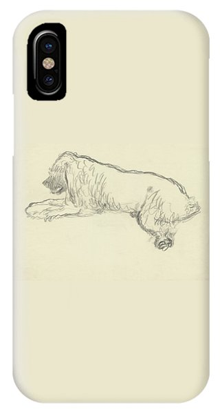 An Illustration Of A Dog IPhone Case