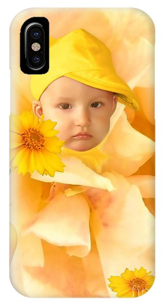 An Image Of A Photograph Of Your Child. - 09 IPhone Case