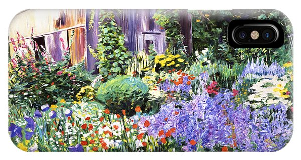 An Impressionist Garden IPhone Case