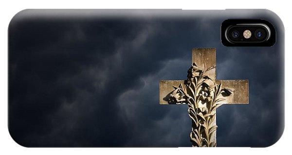 An Irish Cross Phone Case by Jim Zuckerman