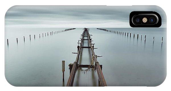 Abandon iPhone Case - An Ocean Between Us by Mats Reslow