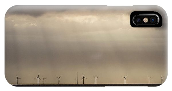 An Offshore Wind Farm In Dutch Waters IPhone Case