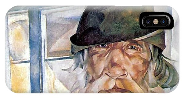 Russian Impressionism iPhone Case - An Old Man From Olonets by Celestial Images