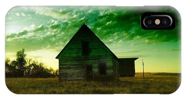 An Old North Dakota Farm House IPhone Case