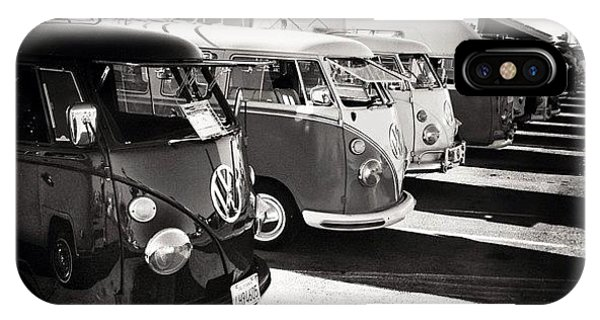 Volkswagen Bus iPhone Case - An Oldie, But A Goodie. Took A Few by Aka J