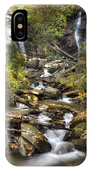 Ana Ruby Falls In Autumn IPhone Case