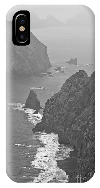 IPhone Case featuring the photograph Anacapa Mist by Jeff Loh
