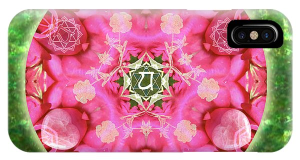Anahata Rose IPhone Case