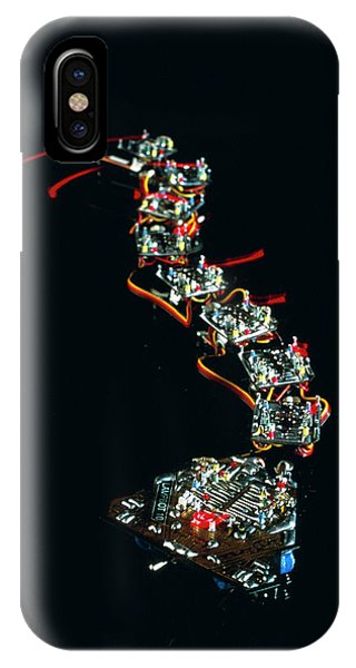 0 iPhone Case - Analogue Robot Snake by Peter Menzel/science Photo Library