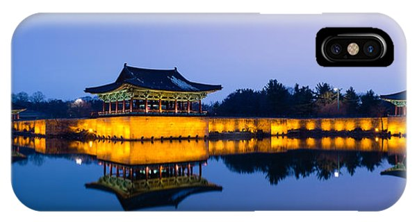 Anapji Pond At Dusk IPhone Case