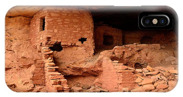 Anasazi Ruins At Comb Ridge IPhone Case