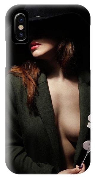 Lips iPhone Case - Anastasia by Boris Belokonov
