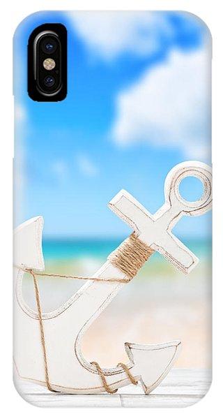 Nautical iPhone Case - Anchor by Amanda Elwell