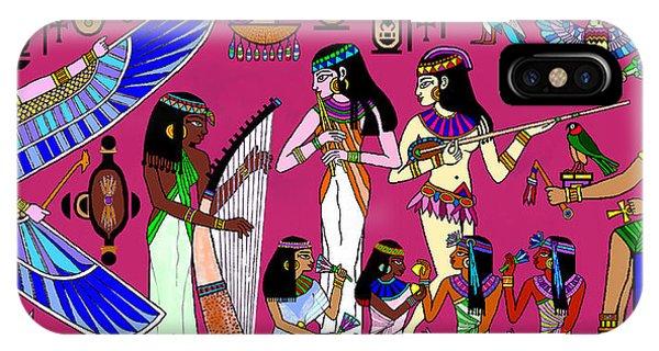 Ancient Egypt Splendor IPhone Case