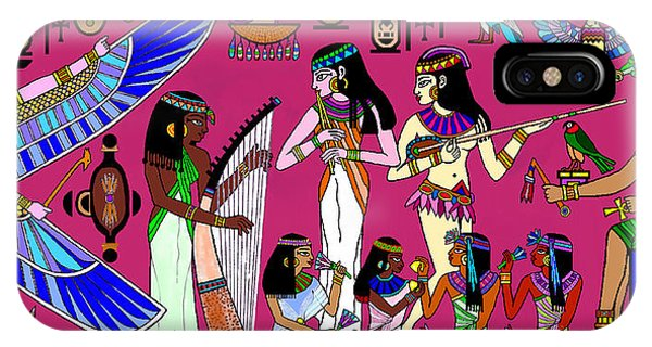 Ancient Egypt Splendor IPhone Case