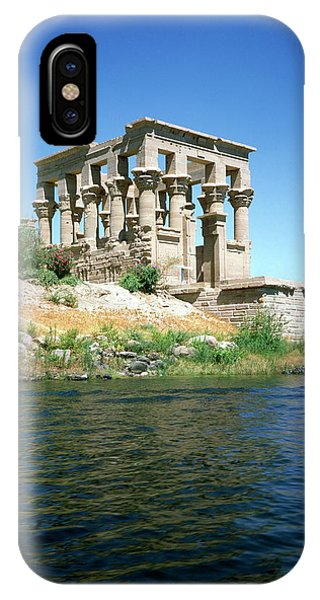 Pharaoh iPhone Case - Ancient Egyptian Temple At Philae by Robert Brook/science Photo Library
