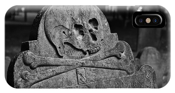 Ancient Gravestone IPhone Case