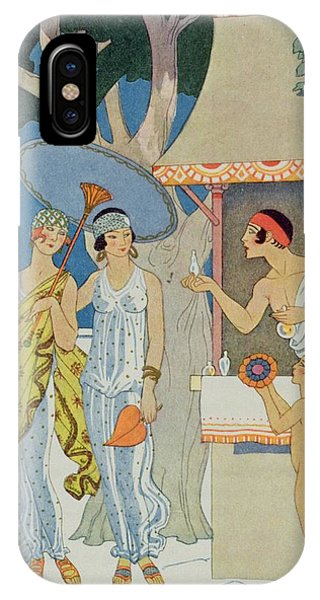 Scent iPhone Case - Ancient Greece by Georges Barbier