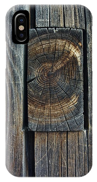 Woodworking iPhone Case - Ancient Mortise And Tenon Joint - Japan by Daniel Hagerman
