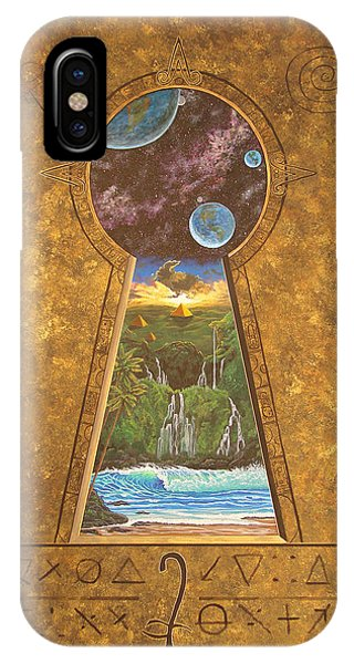 Ancient Mysteries Phone Case by Jeffrey Oldham