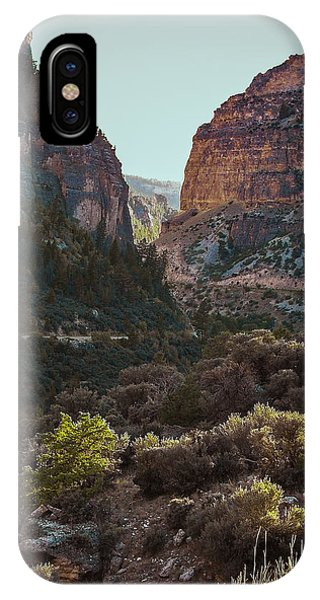 Ancient Walls In Wyoming IPhone Case