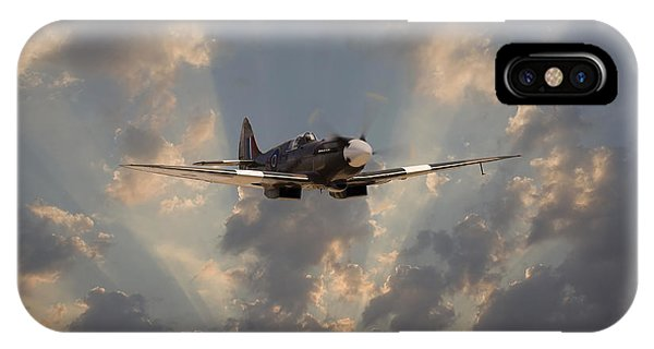 Skyscape iPhone Case - And Comes Safe Home by Pat Speirs