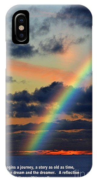 And Here Begins A Journey  IPhone Case