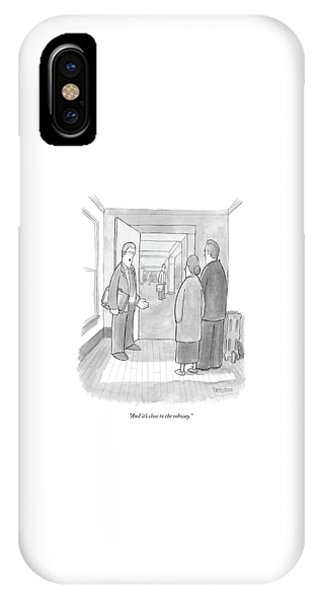 And It's Close To The Subway IPhone Case