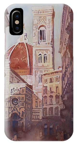 And Suddenly The Duomo IPhone Case